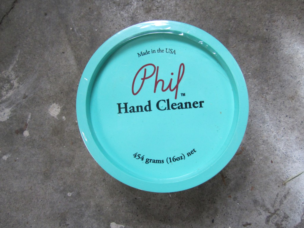 Phil Wood Hand Cleaner Top