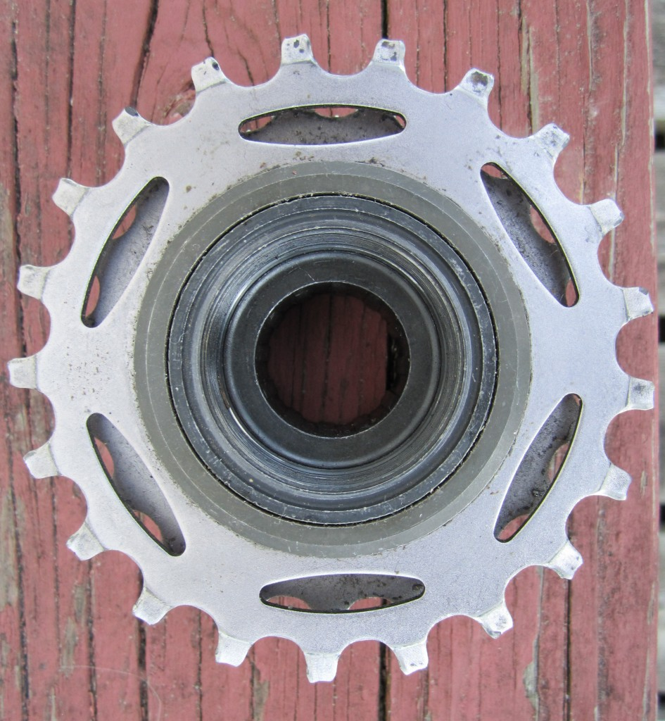 Shimano 7 Speed Dura Ace Freewheel back